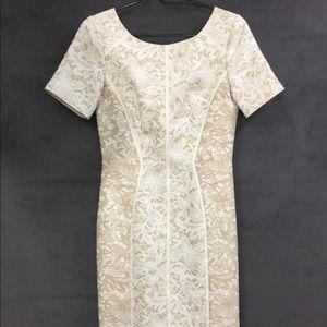 Antonio Melani lace design dress